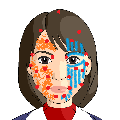 顔面神経麻痺の施術紹介画像