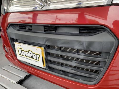 洗車 松山市 キーパーラボ松山 キーパーコーティング オートバックス セルフ松前SC前給油所 樹脂フェンダー