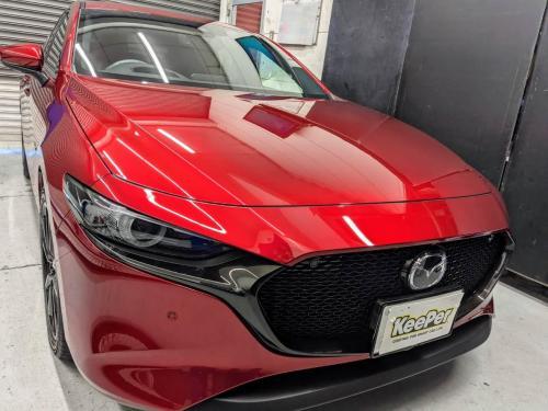 洗車 松山 新車コーティング 代替えコーティング キーパー ダイヤモンドキーパープレミアム