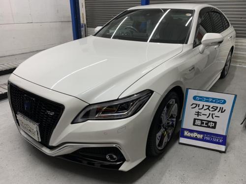 洗車 松山 新車コーティング 代替えコーティング キーパー