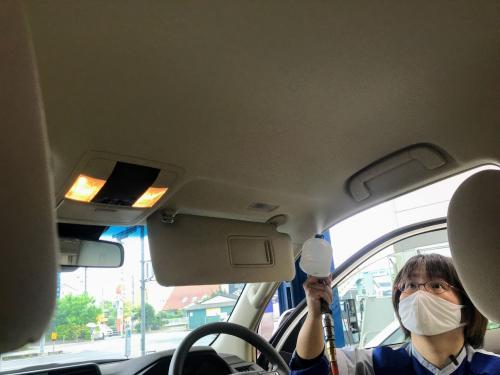 手洗い洗車 松山市 キーパーラボ松山 室内除菌抗菌