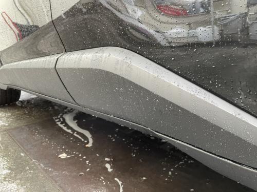 洗車 松山市 松前町 キーパーラボ キーパープロショップ 樹脂フェンダーキーパー