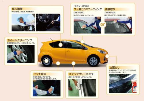 洗車 松山 新車コーティング 代替えコーティング キーパー お手軽 ポリマー フルコース