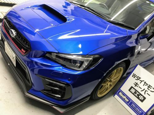 洗車 松山 スバル WRX ダイヤモンドキーパー