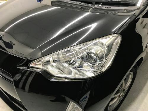 洗車 松山 新車コーティング 代替えコーティング キーパー ヘッドライトクリーン&プロテクト