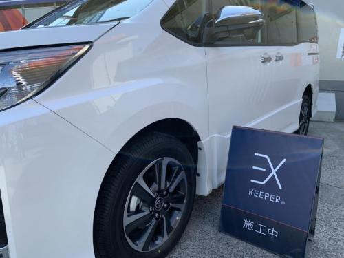 洗車 松山 新車コーティング コーティング部分施工 保険対応しています