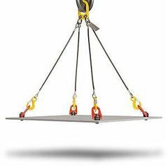 eslingas de cable de acero y pulpos