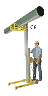 Elevador de material carga