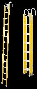 escalera fibra