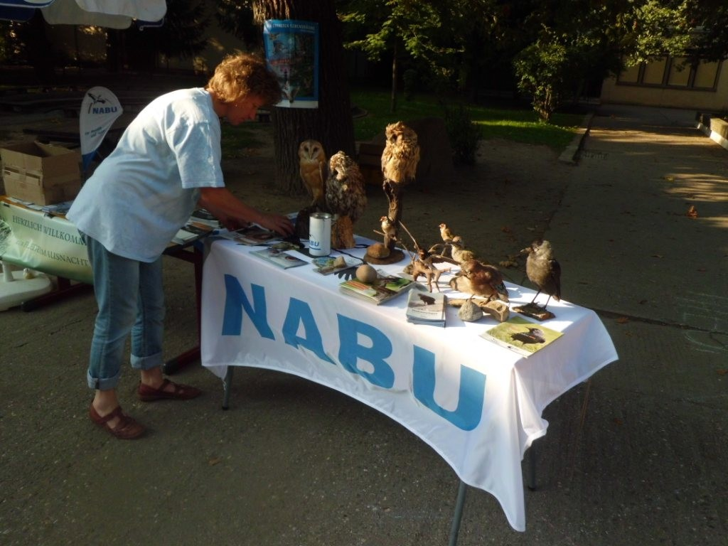 Unser NABU-Stand