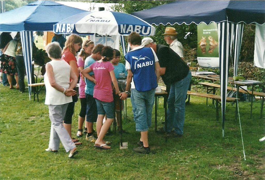Insbesondere Kinder interessierten sich für unsere Exponate