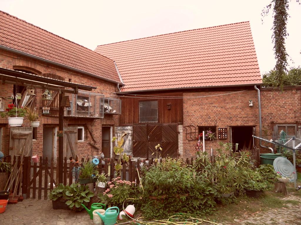 Der Hof vom Ehepaar Hillmer in Plötzky (Foto: Jens Thesenvitz)