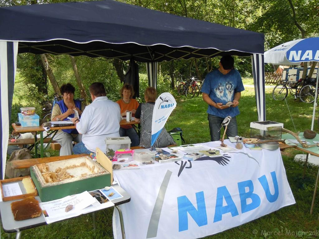 Unser NABU-Stand...