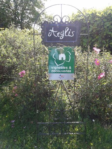 label, Aeylis, Dordogne, Périgord, oenotourisme
