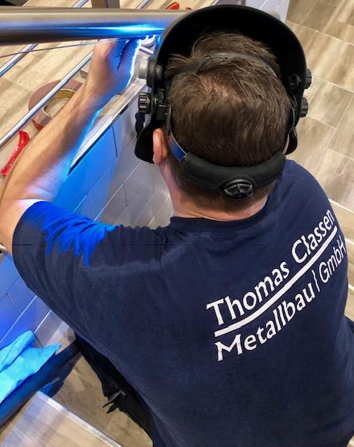 Auftragsschweißen- Neuss & Düsseldorf Thomas Classen Metallbau GmbH