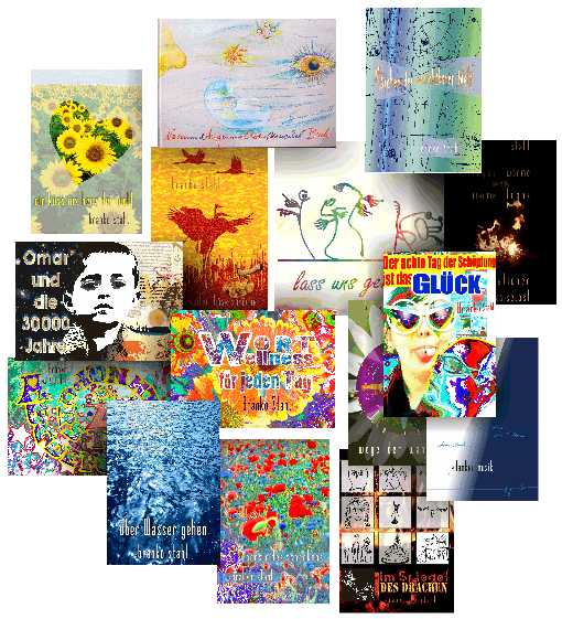 Bücher Bücher Bücher Wort und Bild Atelier Branko Stahl Literatur Kunst Märchen Lyrik Romane Malerei Künstlerunikate Bücher und Bilder Heppenheim Bergstrasse