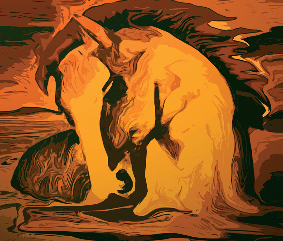 Kunstwerk: Horse of spirit