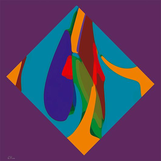 Kunstwerk: Abstrakt