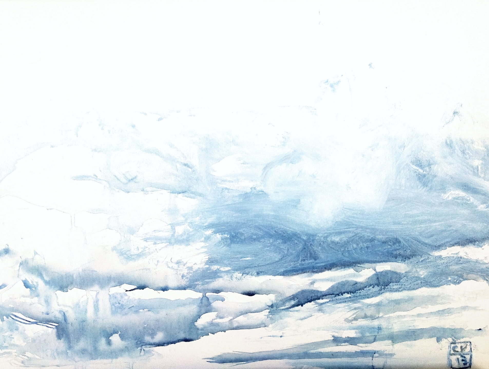 Nuages - 2013 - 60 x 40 cm