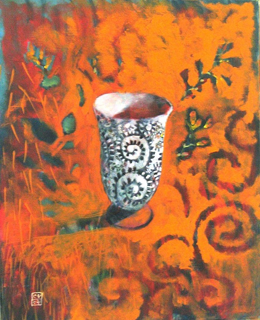 Tasse - 2004. 30X40 cm