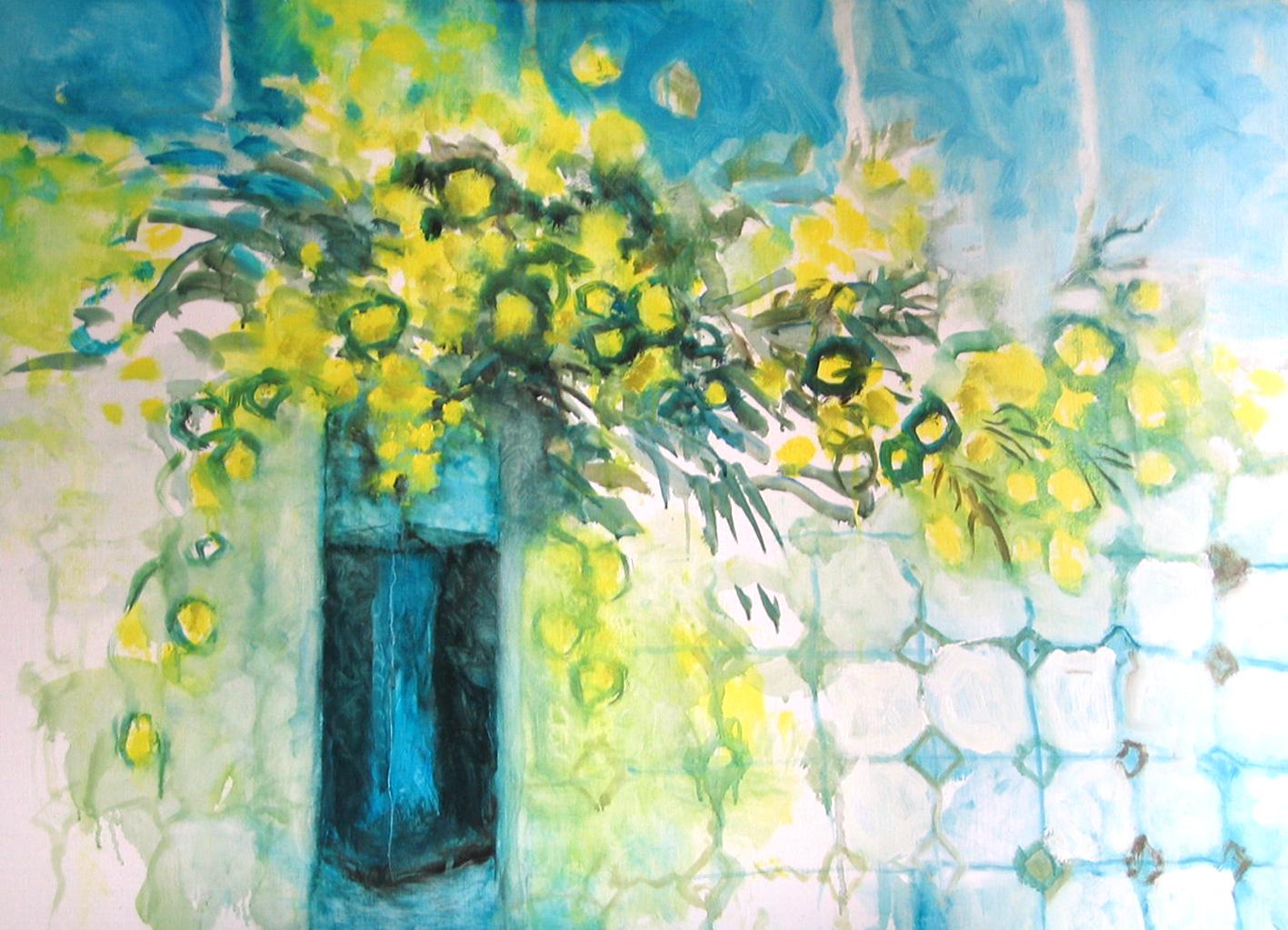 Mimosa - 2008 - 80 x 65 cm