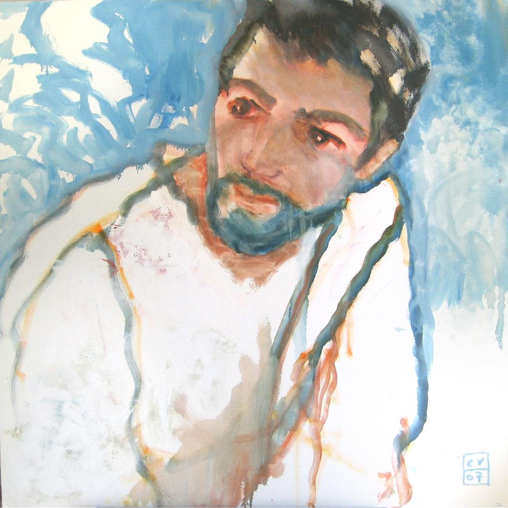 Jérôme - 2007 - 100 x 100 cm