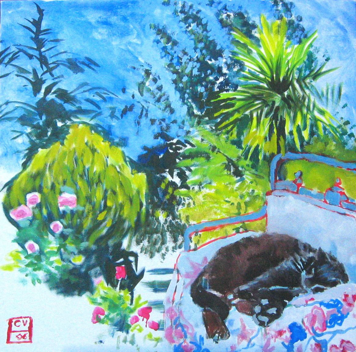 Bienheureux-2006–100 × 100 cm