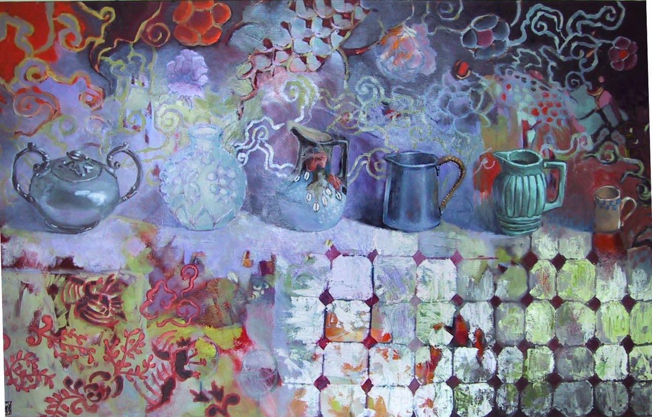 Pots  - 1999  125X90 cm