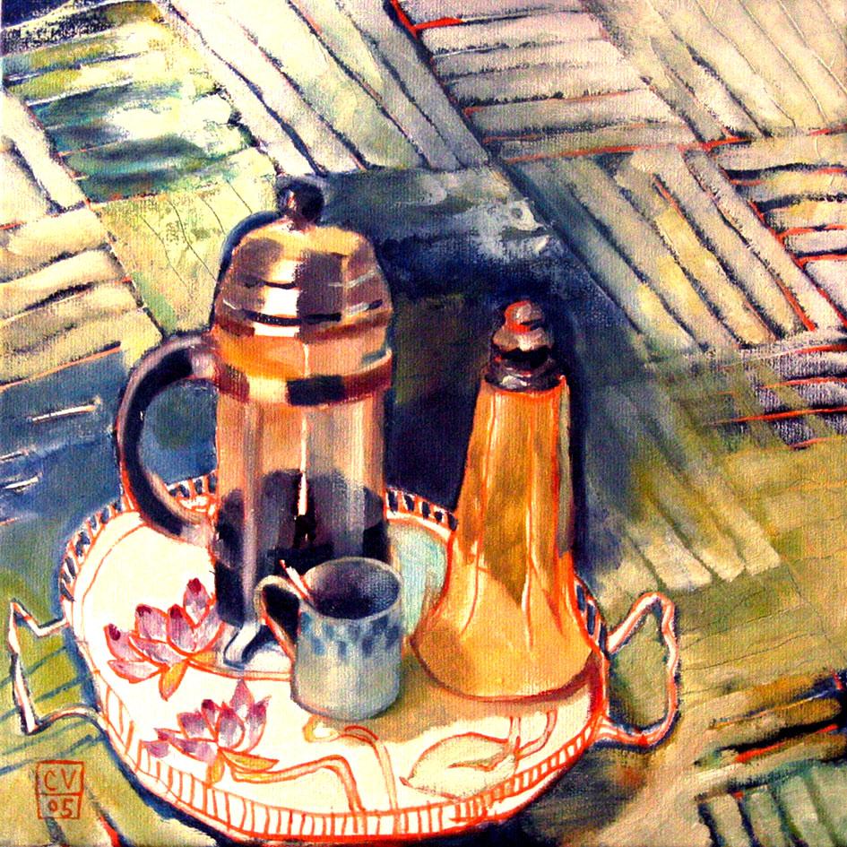 Café - 2005 - 50 x 50 cm