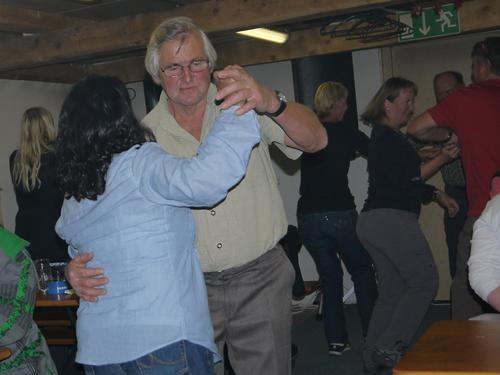 und immer wieder ein Tänzchen...