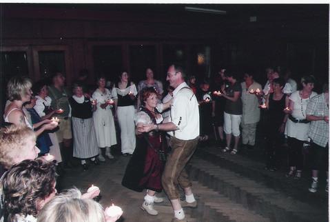 Hochzeitstanz von Beatrix und Helmut Tischhauser