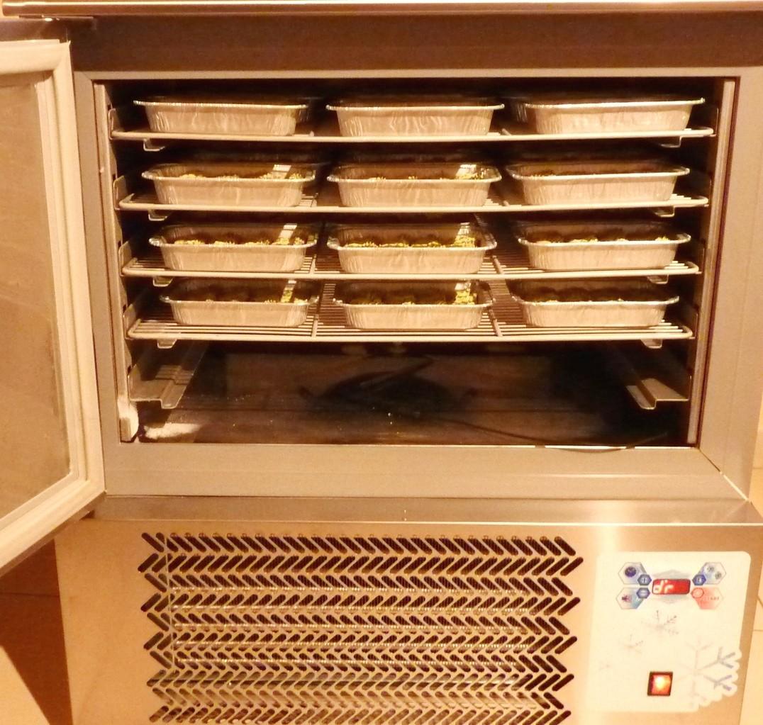 La cellule de refroidissement