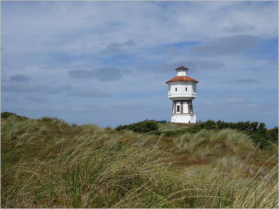 der Wasserturm - das Wahrzeichen der Insel