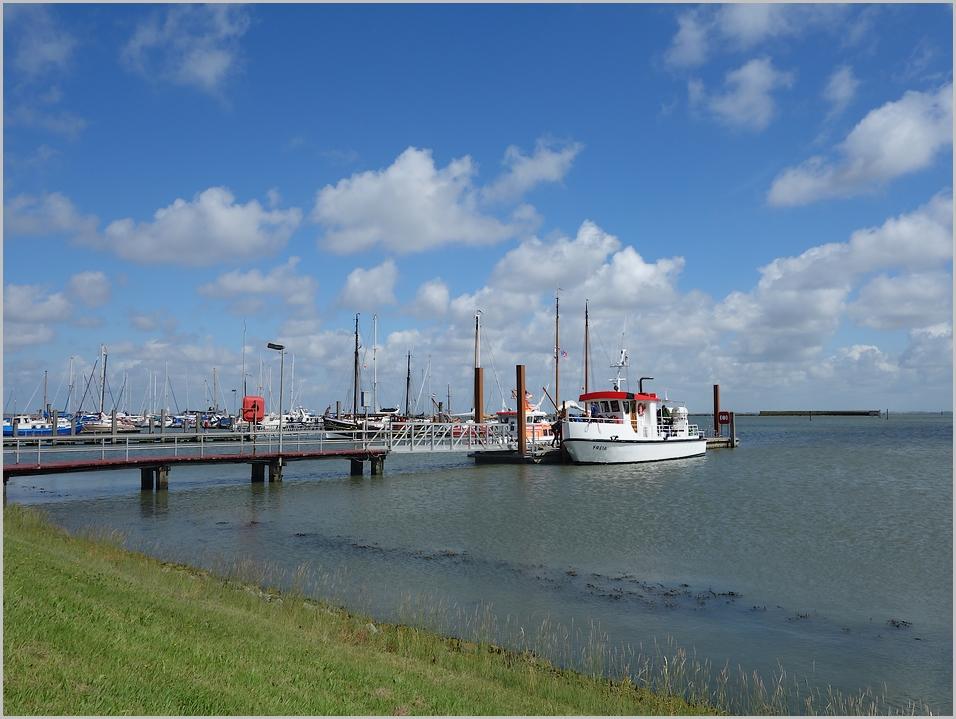 Liegeplatz der Freia auf Langeoog