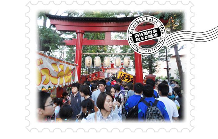 「大野稲荷神社宵宮」2015.7.9