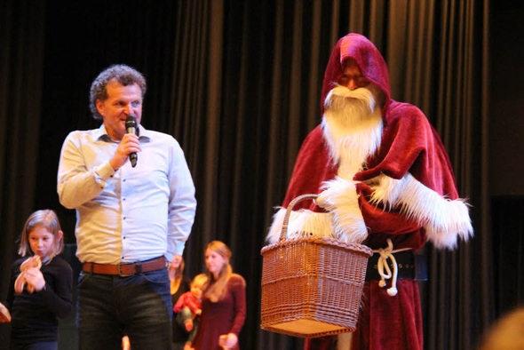 Thilo Herbster begrüßte den Nikolaus