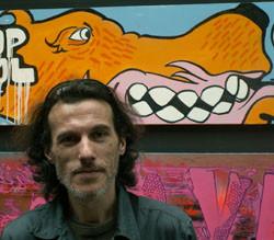 """Marcel visitant l'exposition """"TAG au Grand Palais"""" en 2009"""