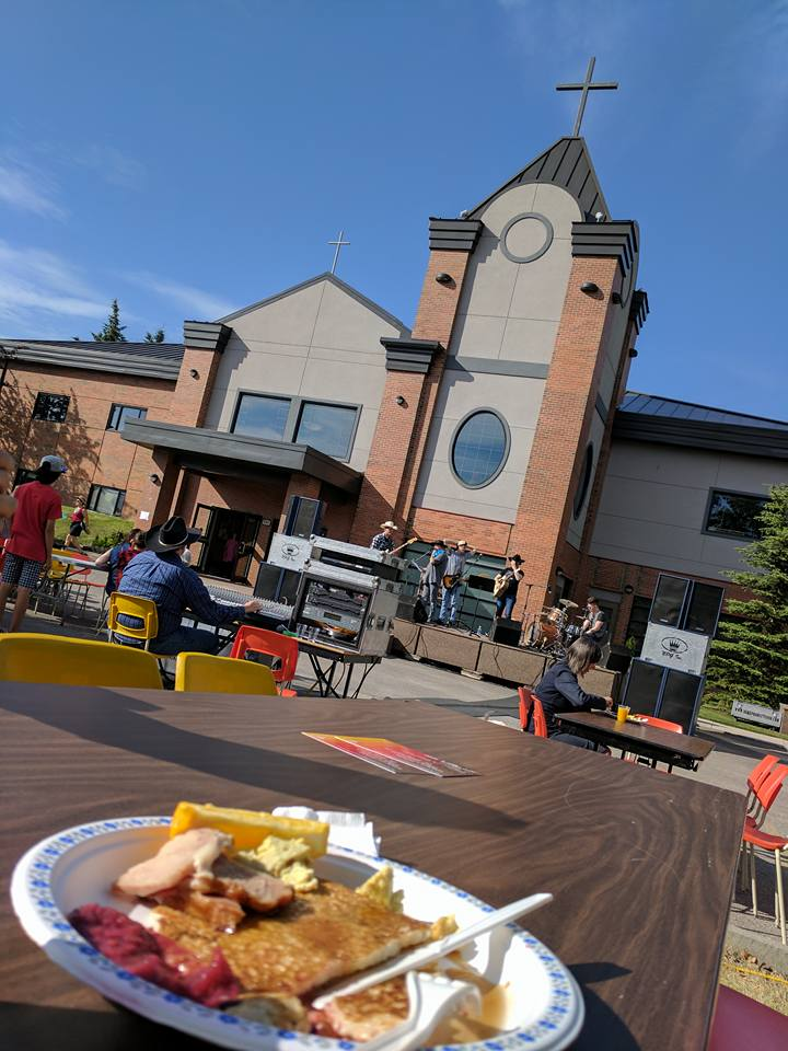 7/9 Westview Stampede Breakfast Volunteer work