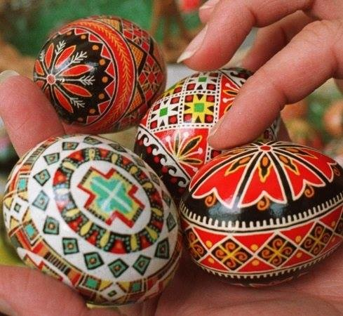 Ukrainian Egg Painting lead by Olha!
