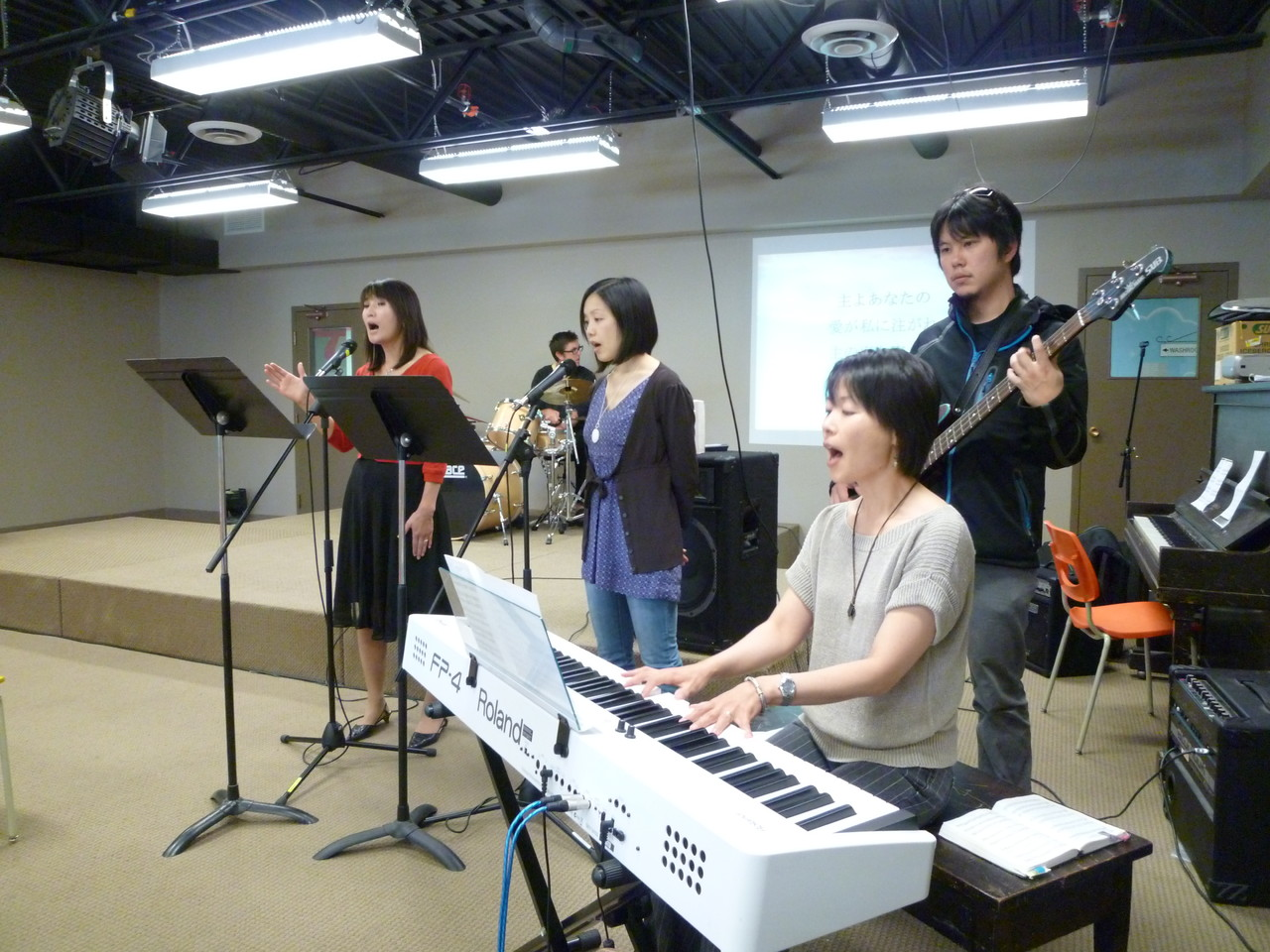 Worship with Yuko (September 2012)
