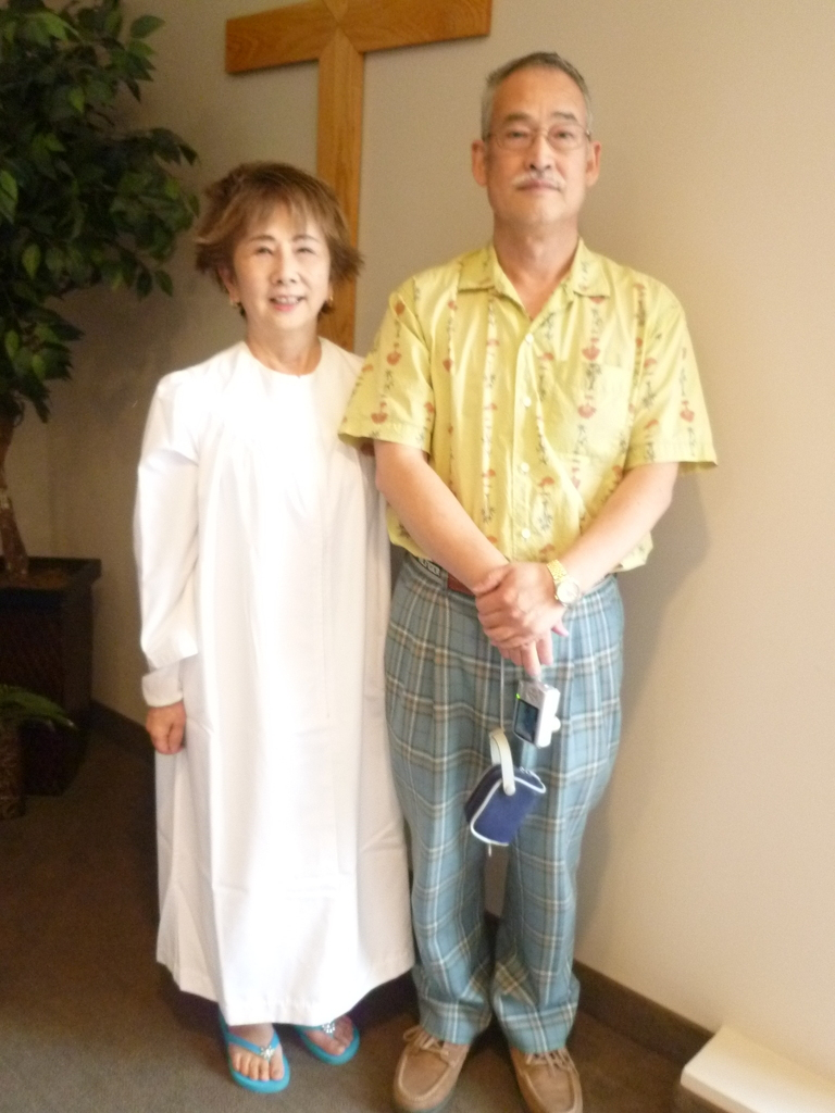 2012 (Easter) Etsuko's Baptism