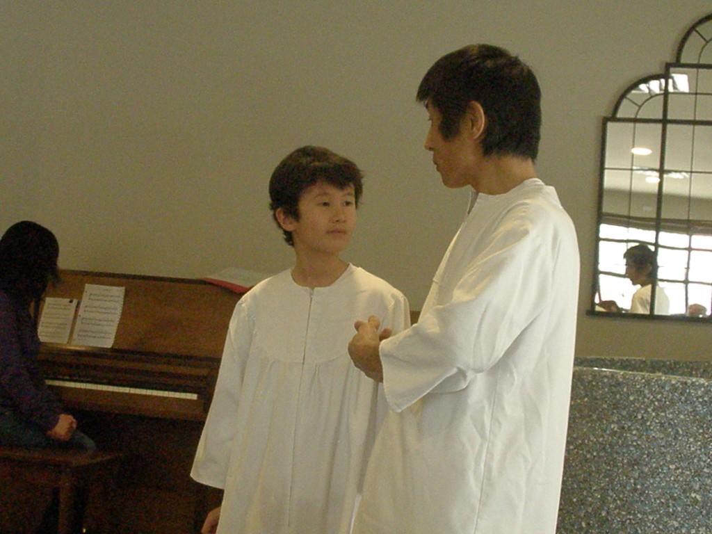 Ryu's Baptism
