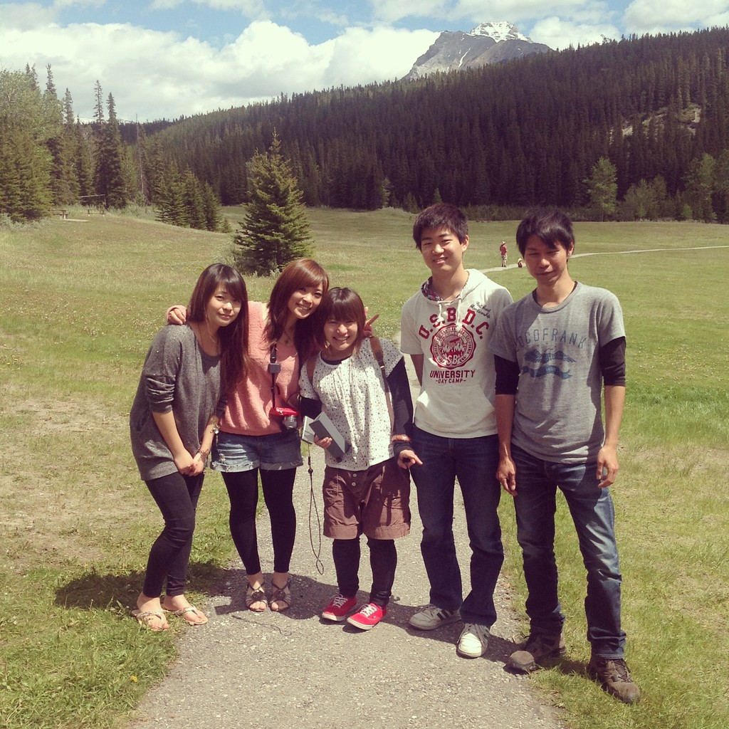 Father's Day @ Banff Cascade Ponds