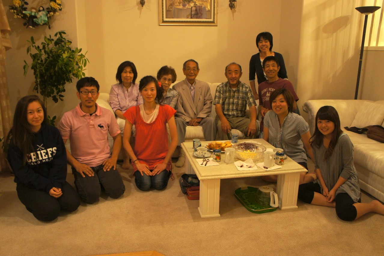With Pastor Akedo (August 2012)