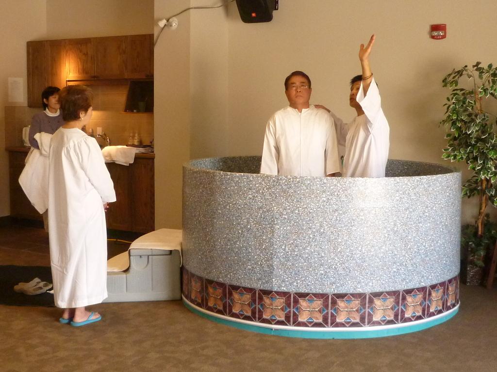 2012 (Easter) Masaki's Baptism