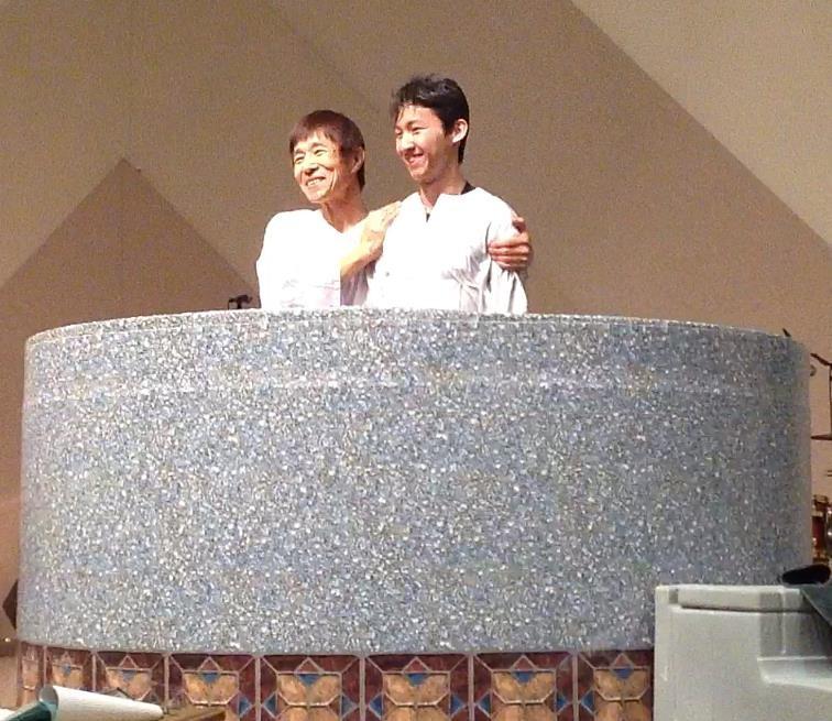 Kengo's Baptism