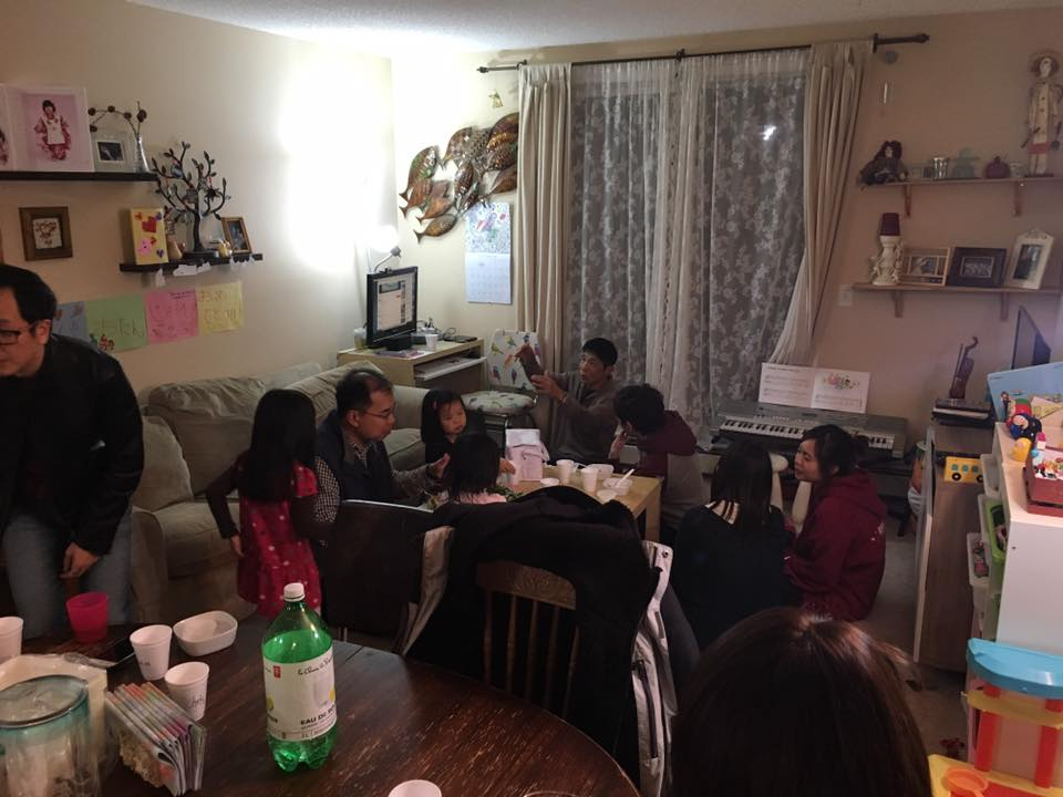 11/19 Fellowship Chiki chiki eat supper
