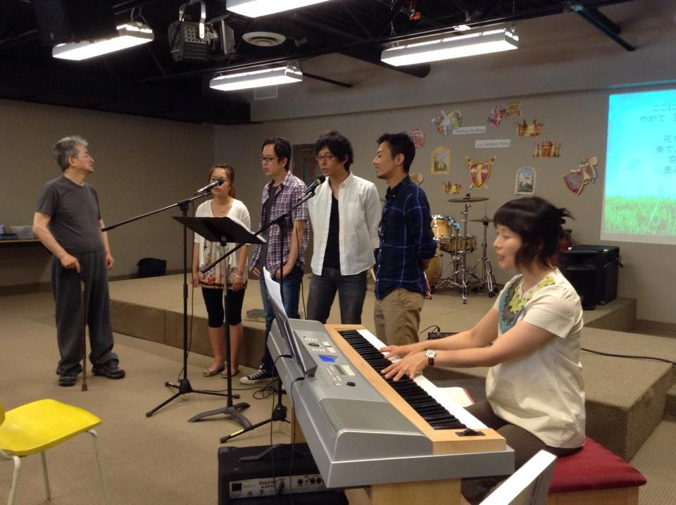 First & the Last worship team