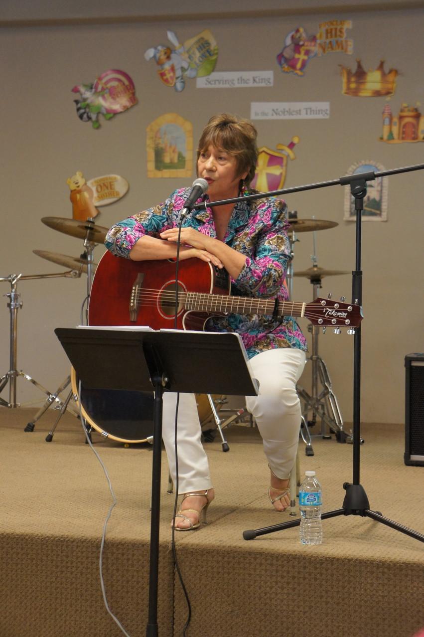 Gospel concert with Reiko Uehara