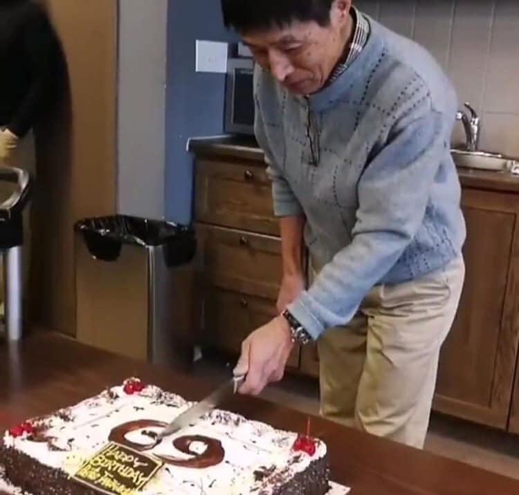 2/3 Pastor Taniguchi's Birthday!